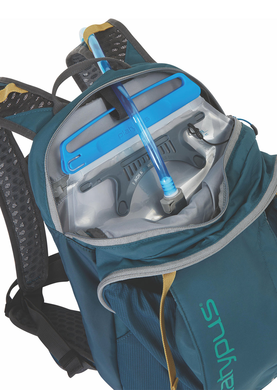 Platypus Women's X.C Series B-Line 8L Hydration Backpack Blue Lagoon