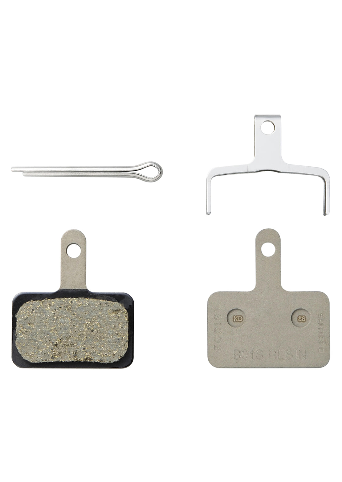 Shimano B01S Resin Brake Pads No Color