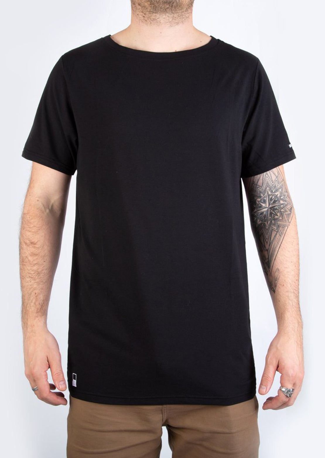 BN3TH Men's Short Sleeve Shirt - Model Front