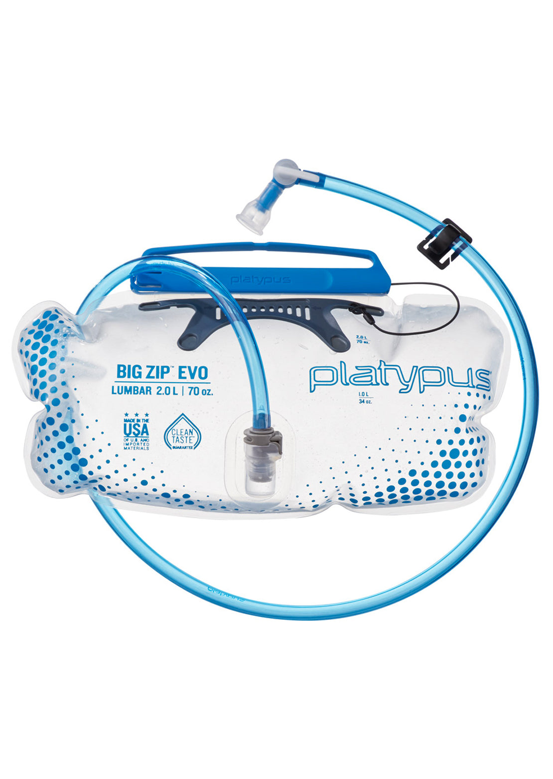 Platypus Big Zip EVO 2.0 L Reservoir Clear