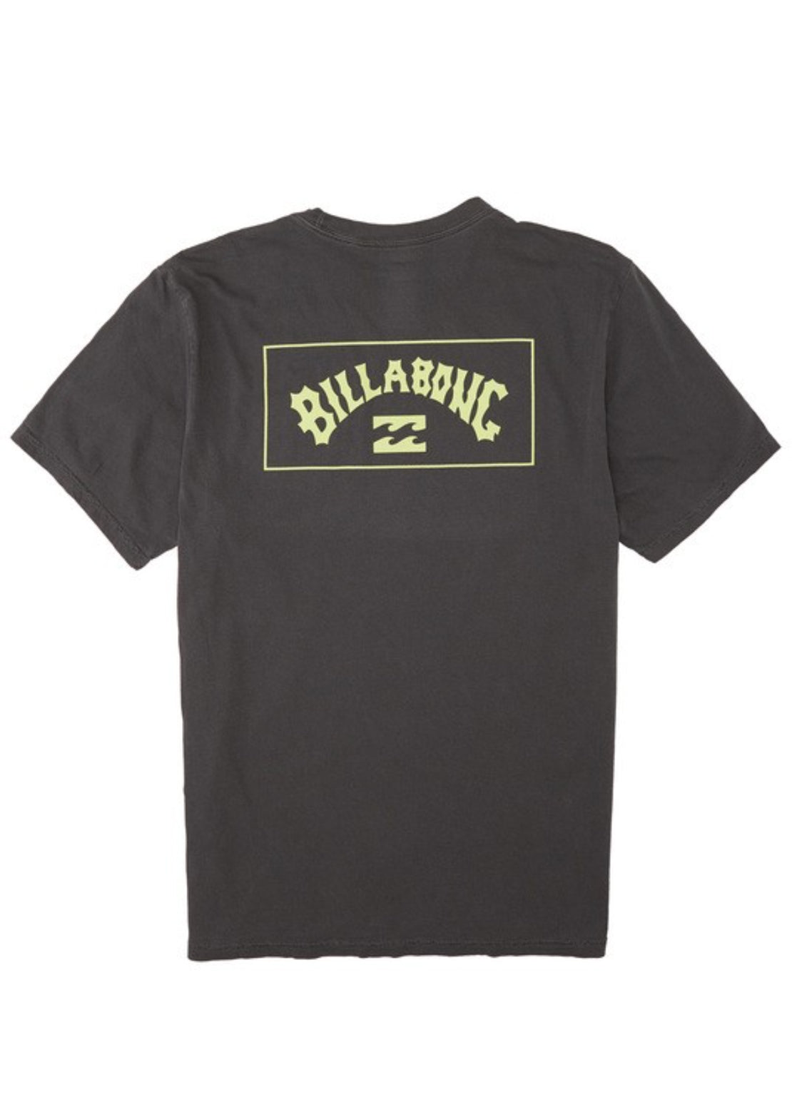 Billabong Men's Arch T-Shirt Charcoal