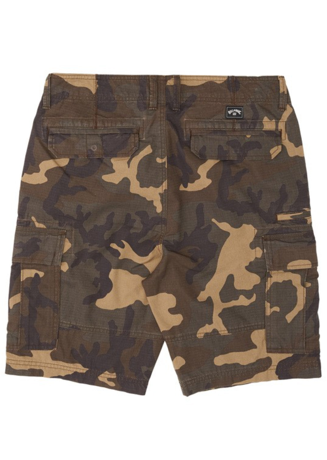Billabong Men's Scheme Cargo Shorts Military Camo