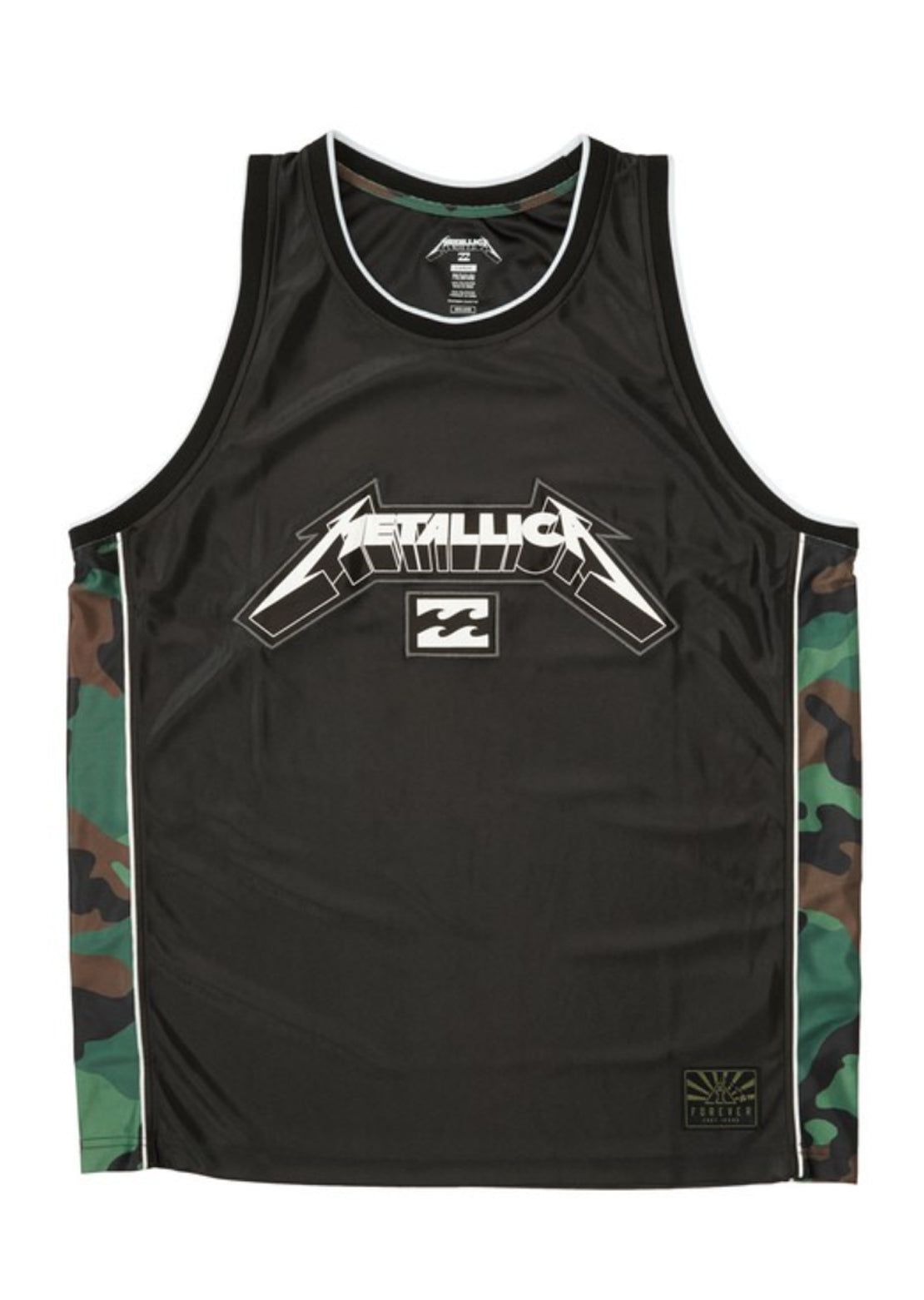 Billabong X Metallica Men's Ai Metallica Tank Top Black
