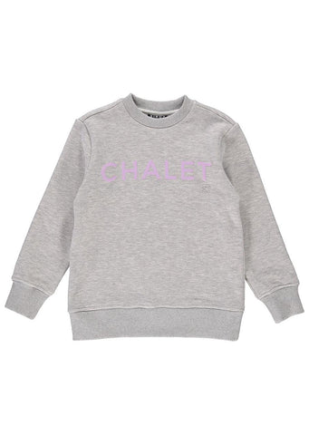 Birdz Junior Chalet Crewneck Sweater Gray