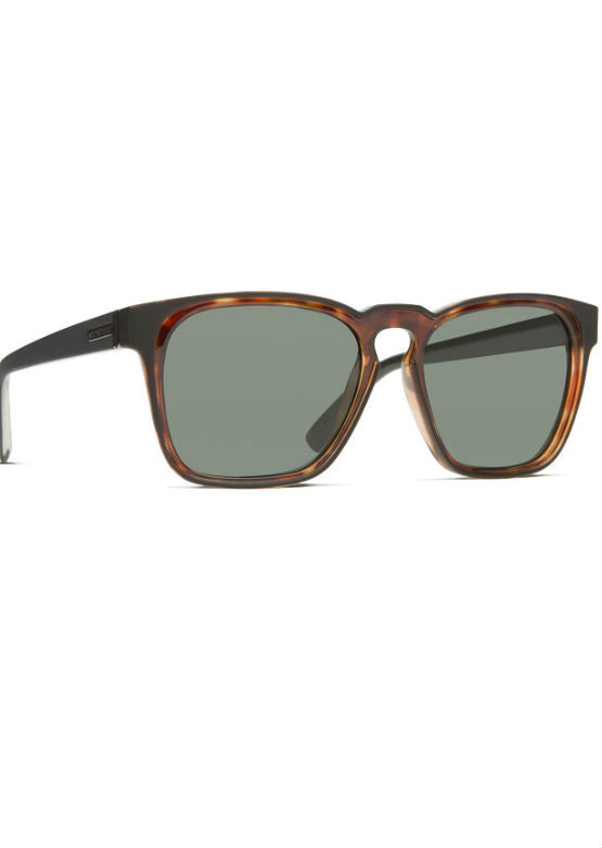 Von Zipper Levee - Black Satin Tortoise