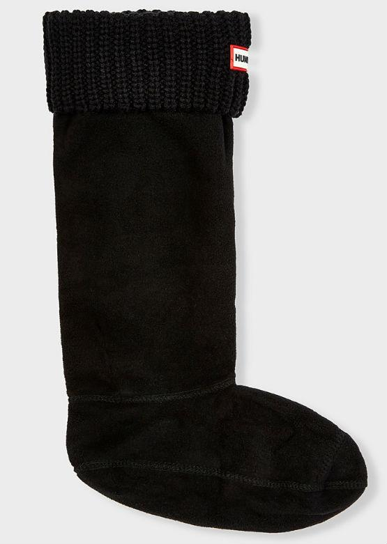 Hunter Women's Half Cardigan Tall Boot Sock