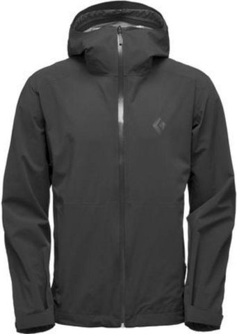 Black Diamond Men's Stormline Stretch Rain - Black