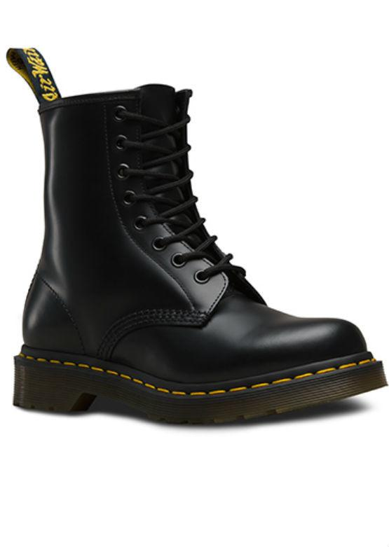 DR.Martens Womens 1460 - Black Smooth