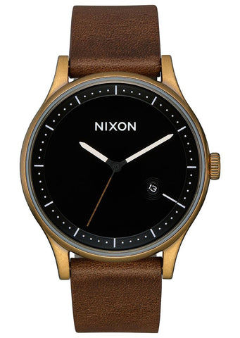 Nixon Men's Station Leather Watch