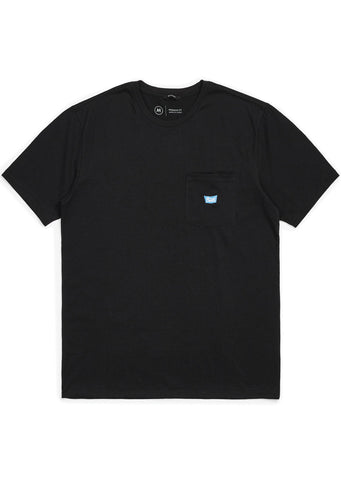 Brixton Men's Stith IV Pocket T-Shirt Black