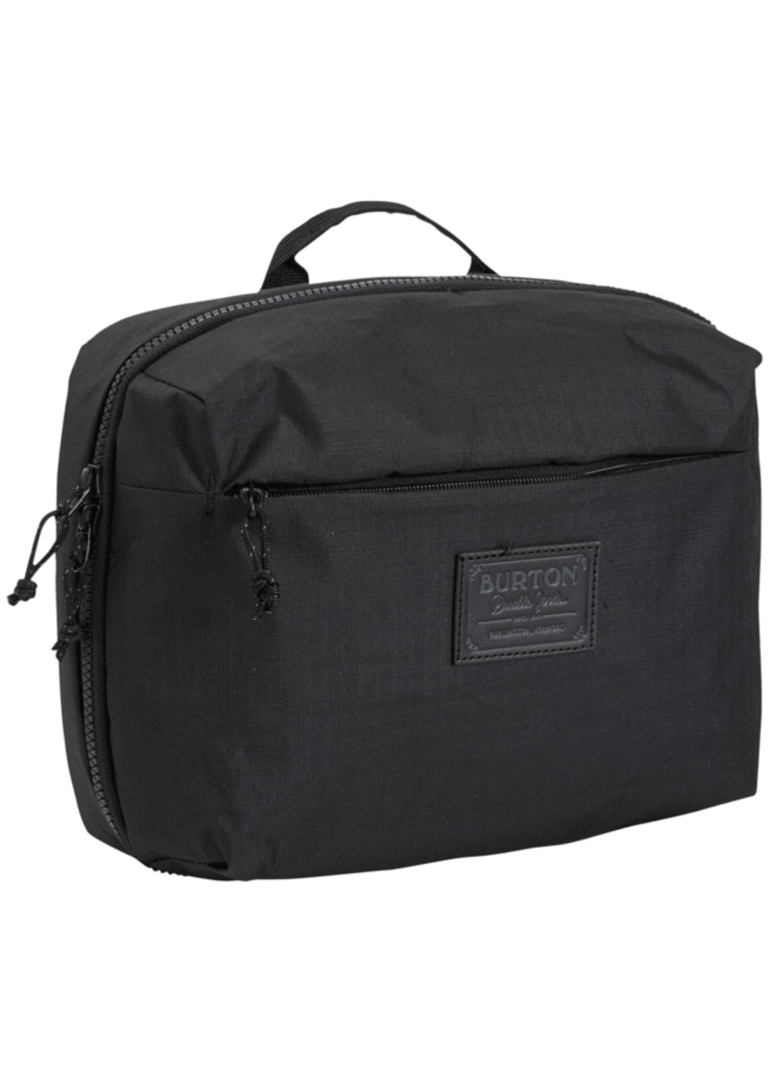 Burton High Maintenance Kit Hanging Toiletry Bag True Black Triple Ripstop