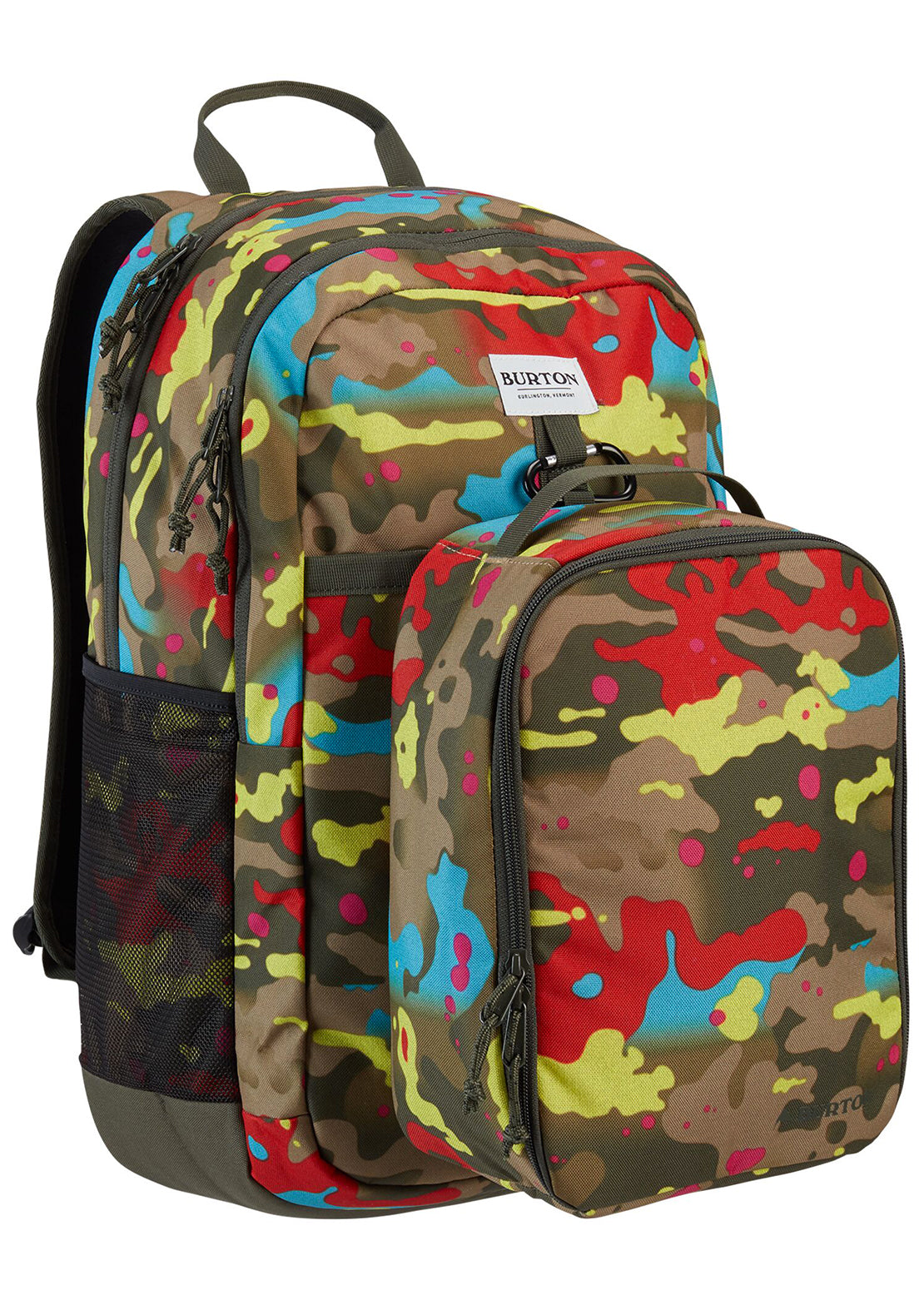 Burton Junior Lunch-N-Pack 35L Backpack Bright Birch Camo Print