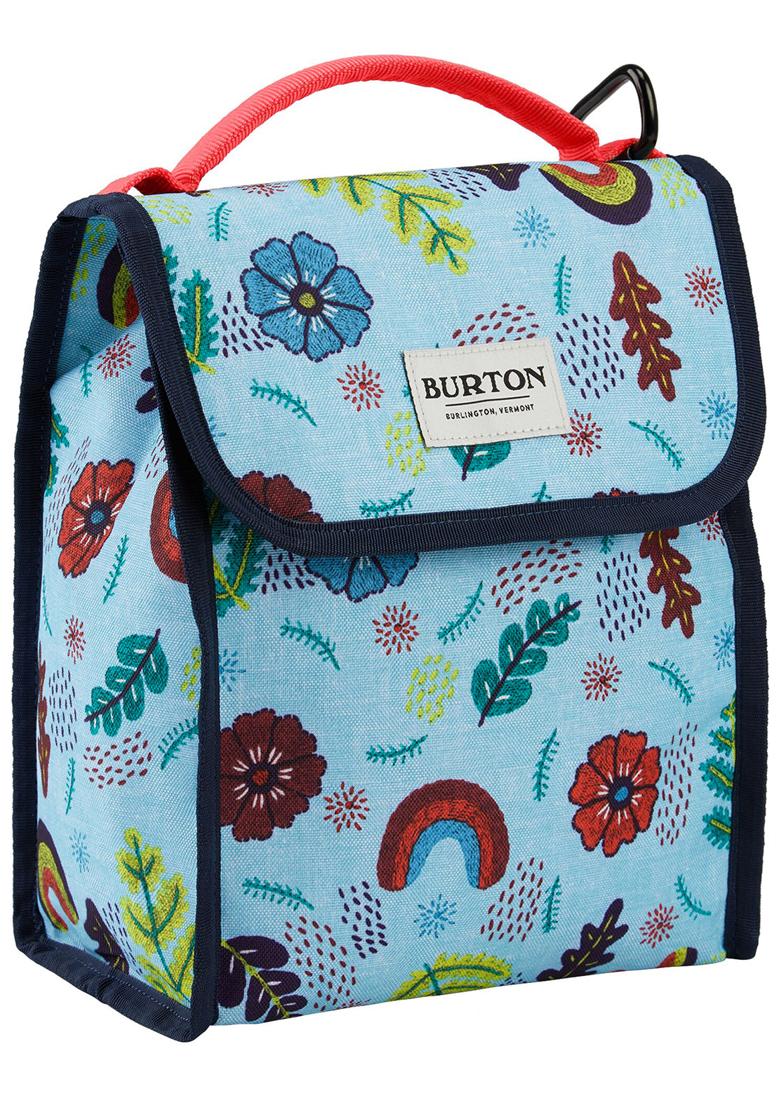 Burton Lunch Sack 6L Cooler Bag Embroidered Floral Print