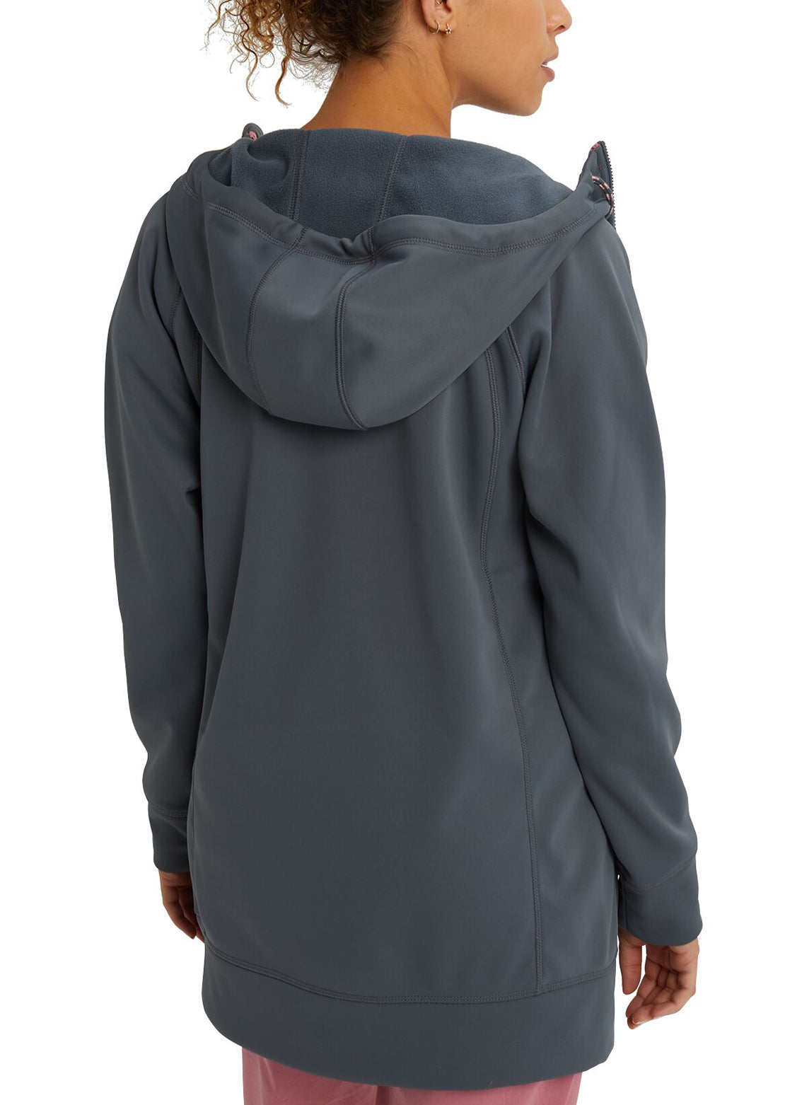 Burton Women's Crown Bonded Long Full Zip Hood