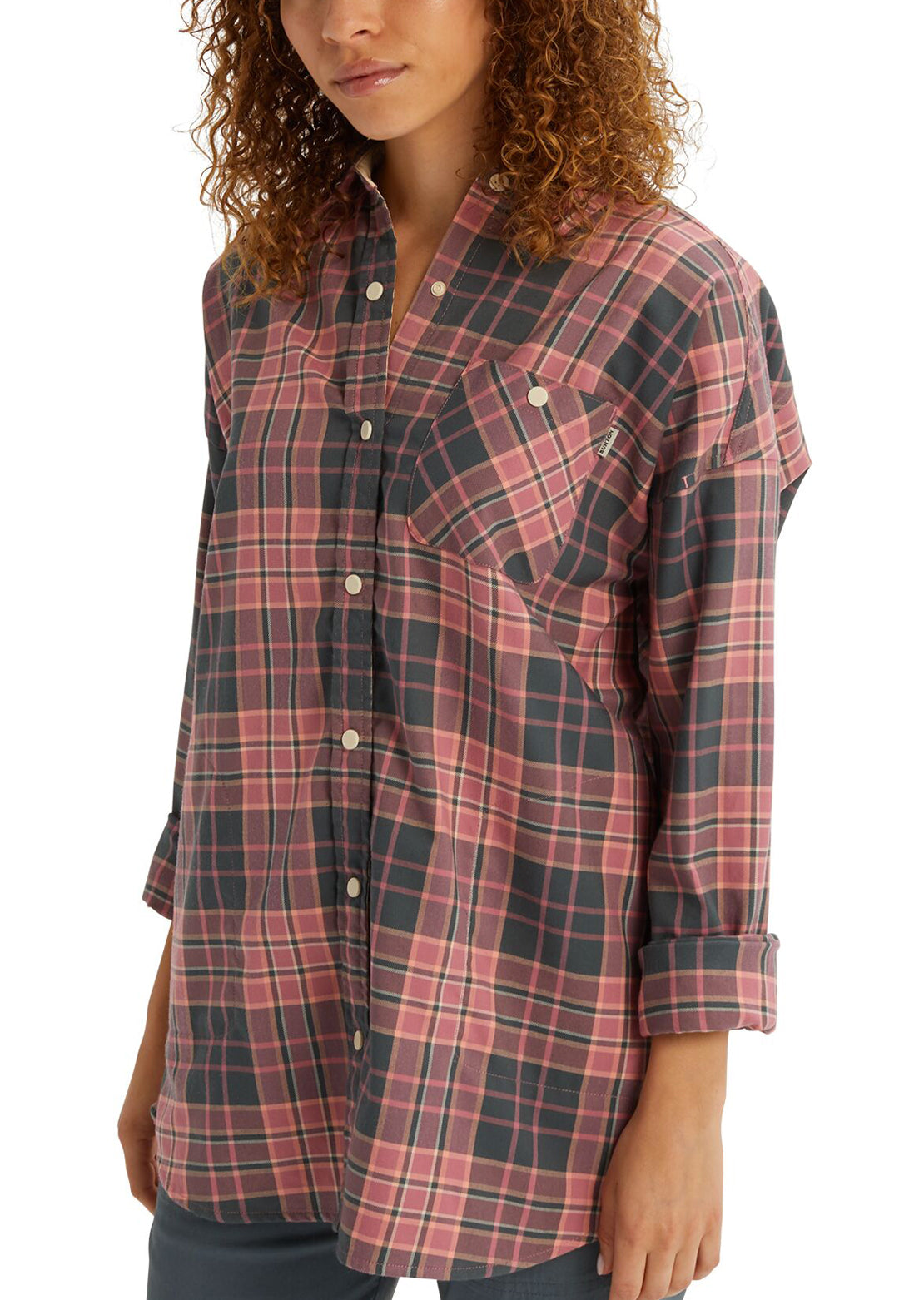 Burton Women's Grace Performance Flannel Rosebud Arrowhead