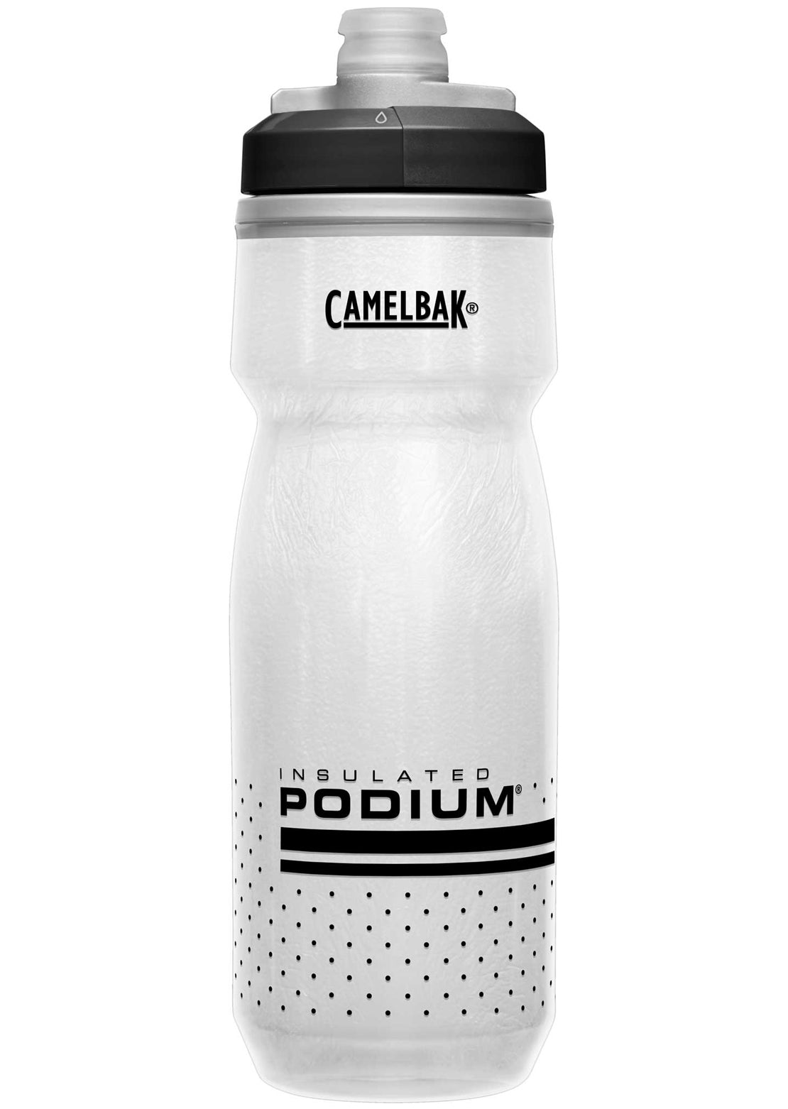 Camelbak Podium Chill 21 Oz Bottle White/Black