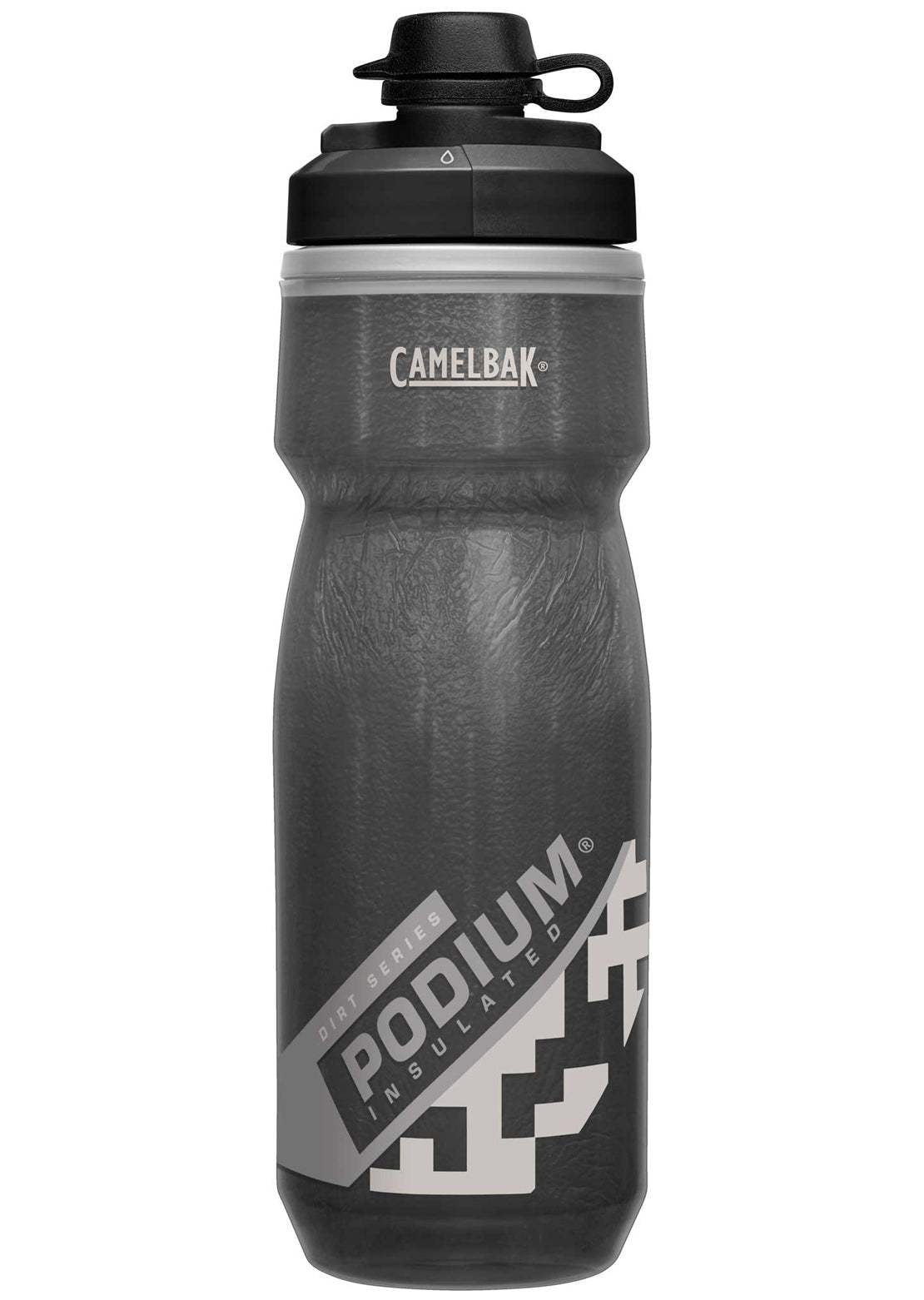 Camelbak Podium Dirt Series Chill 21 Oz Bottle Black