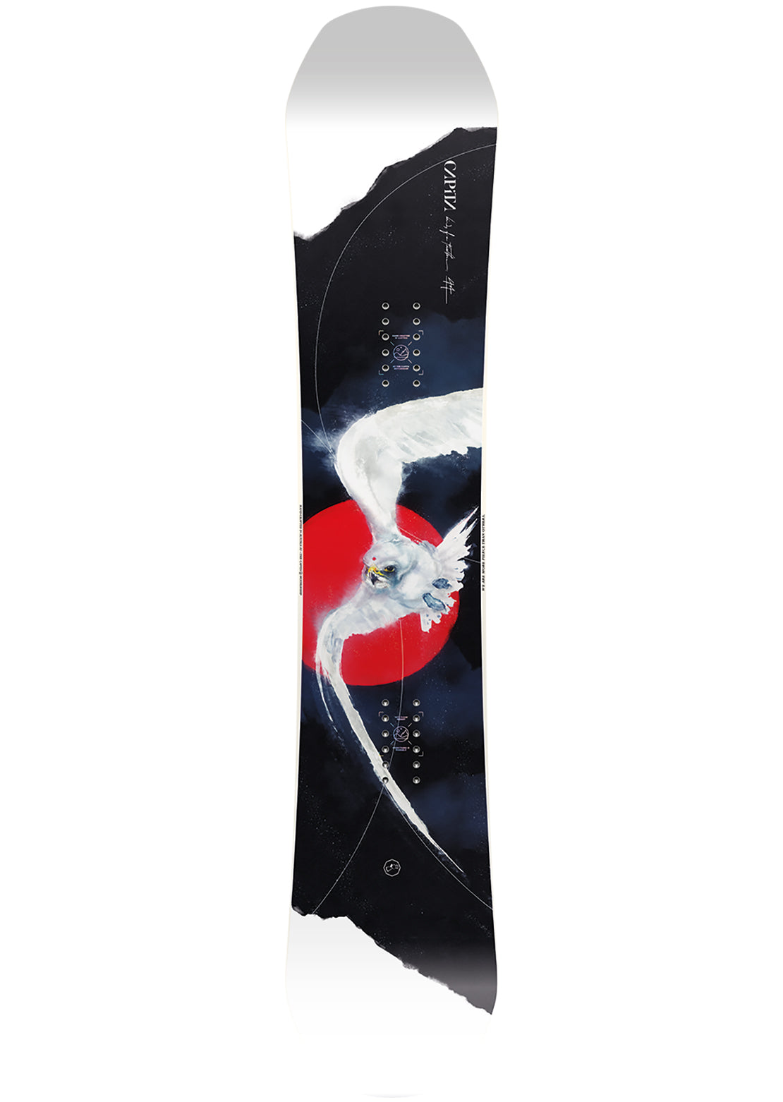 Capita Women's Birds Of Feathers Snowboard - 144 cm Multi