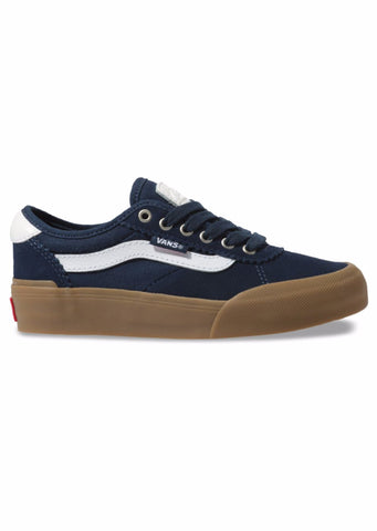 Vans Junior Chima Pro 2 Shoes Navy/Gum/White