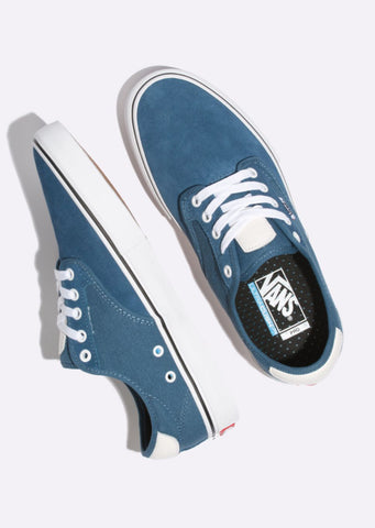 Vans Junior Chima Ferguson Pro Shoes Blue Ashes/White
