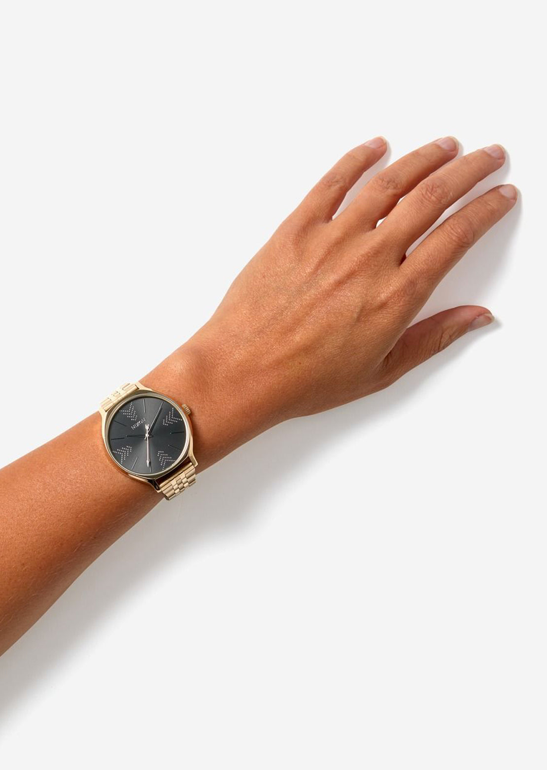Nixon Women's Clique Leather Watch