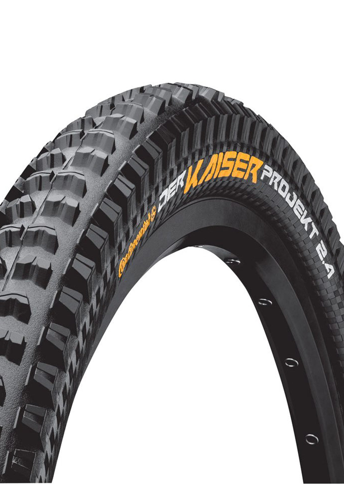 "Continental Der Kaiser Projekt Mountain Bike Tires - 29"" x 2.4"" Black"