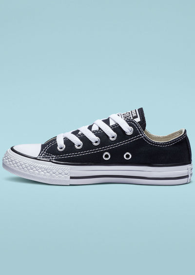 Converse Junior Chuck Taylor Low Top Shoes 3j235C OX/Black