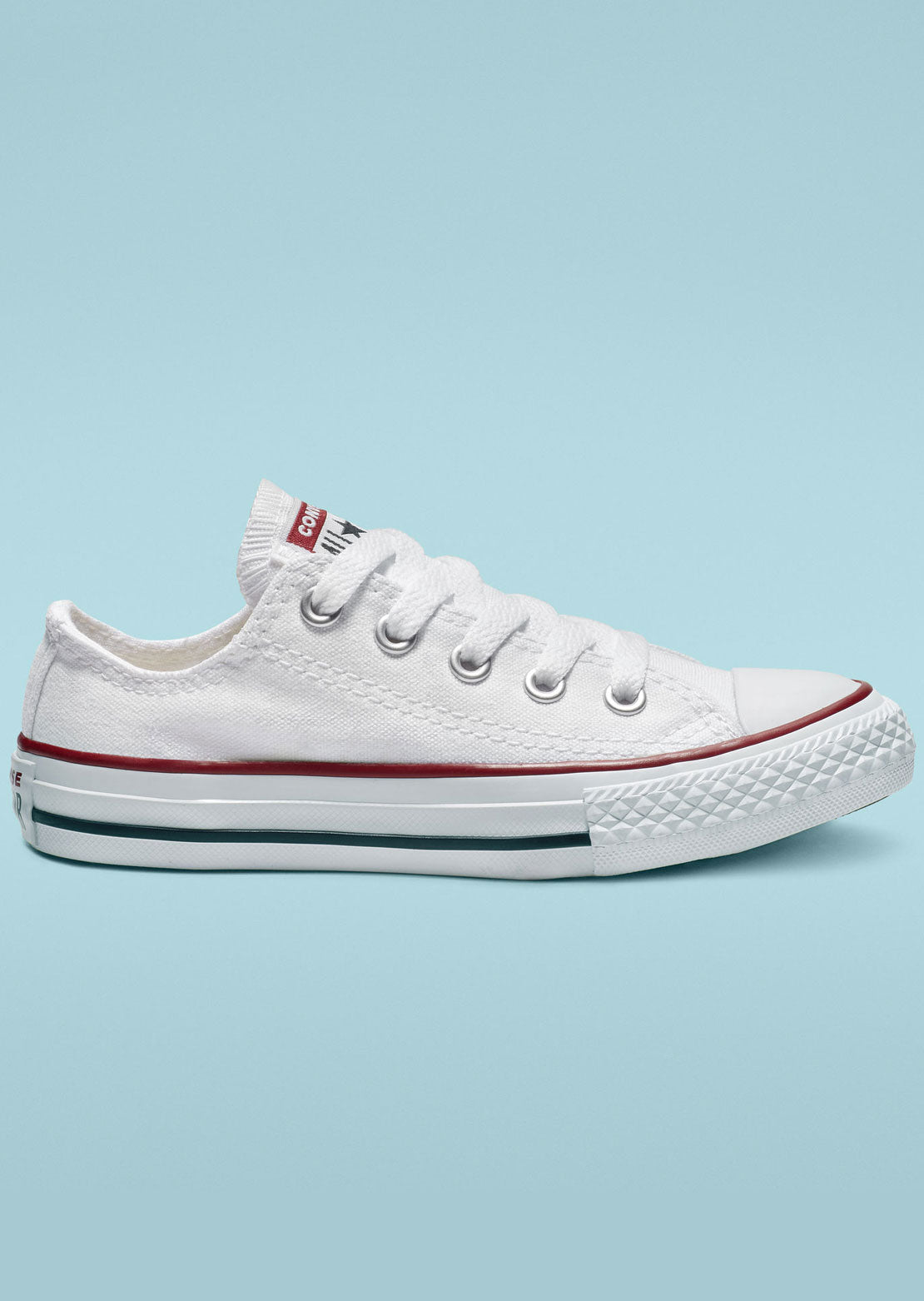 Converse Junior Chuck Taylor Low Top Shoes 3J256C OX/Optical White
