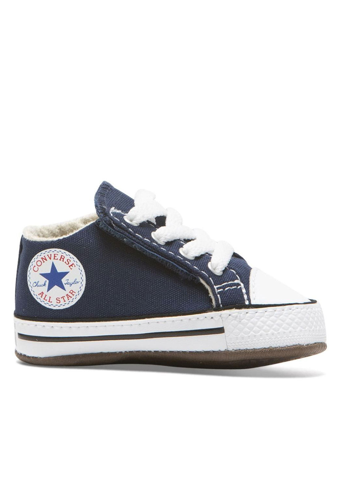 Converse Junior Infant Chuck Taylor All Star Cribster Canvas Shoes Navy/Natural Ivory/White