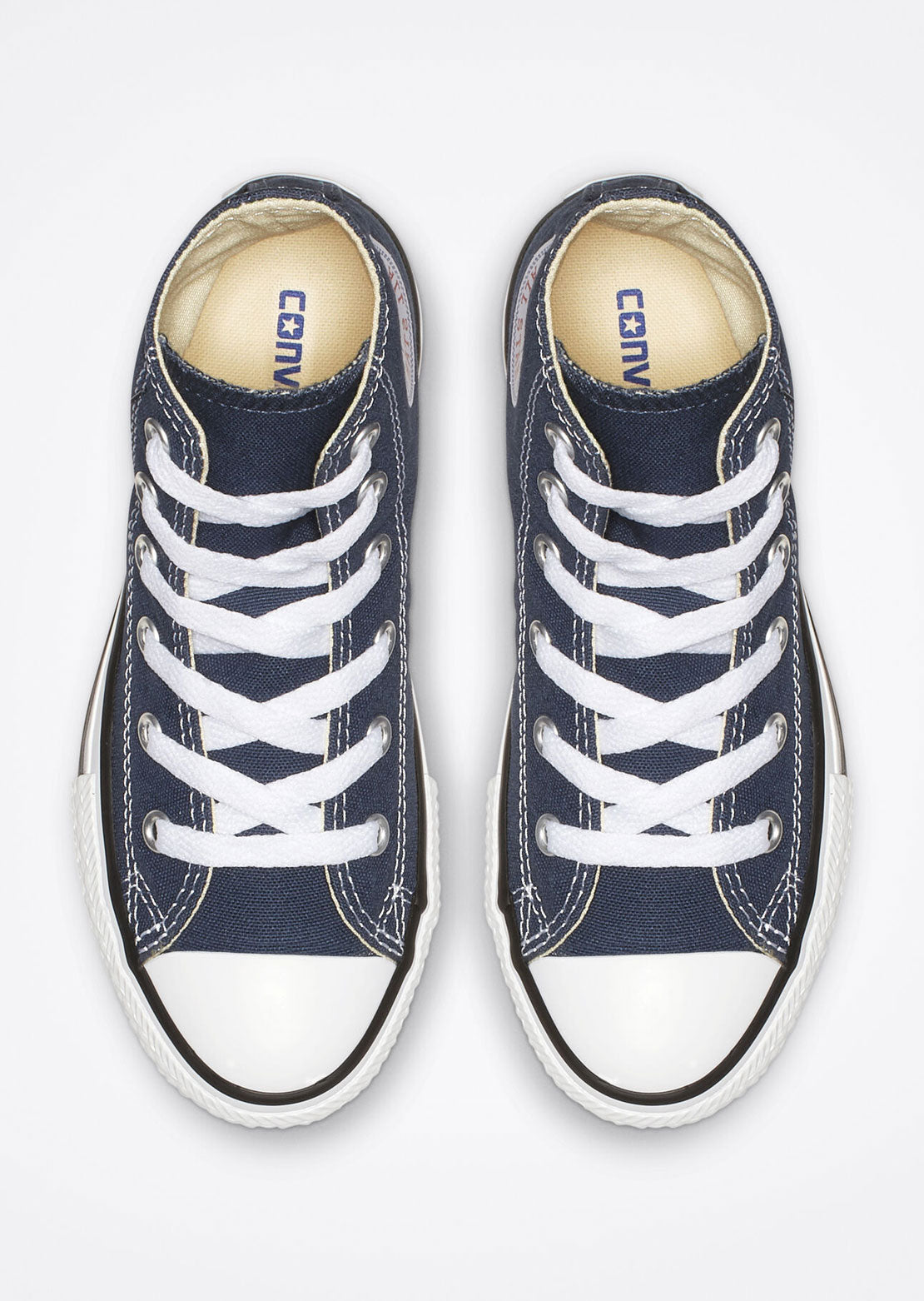 Converse Junior Chuck Taylor All Star Hi Top Shoes 3J233C Navy