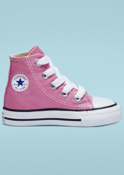 Converse Toddler Chuck Taylor Hi Top Shoes Pink