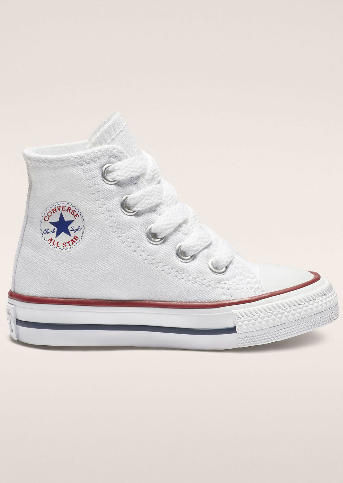 Converse Toddler Chuck Taylor Hi Top Shoes Optical White