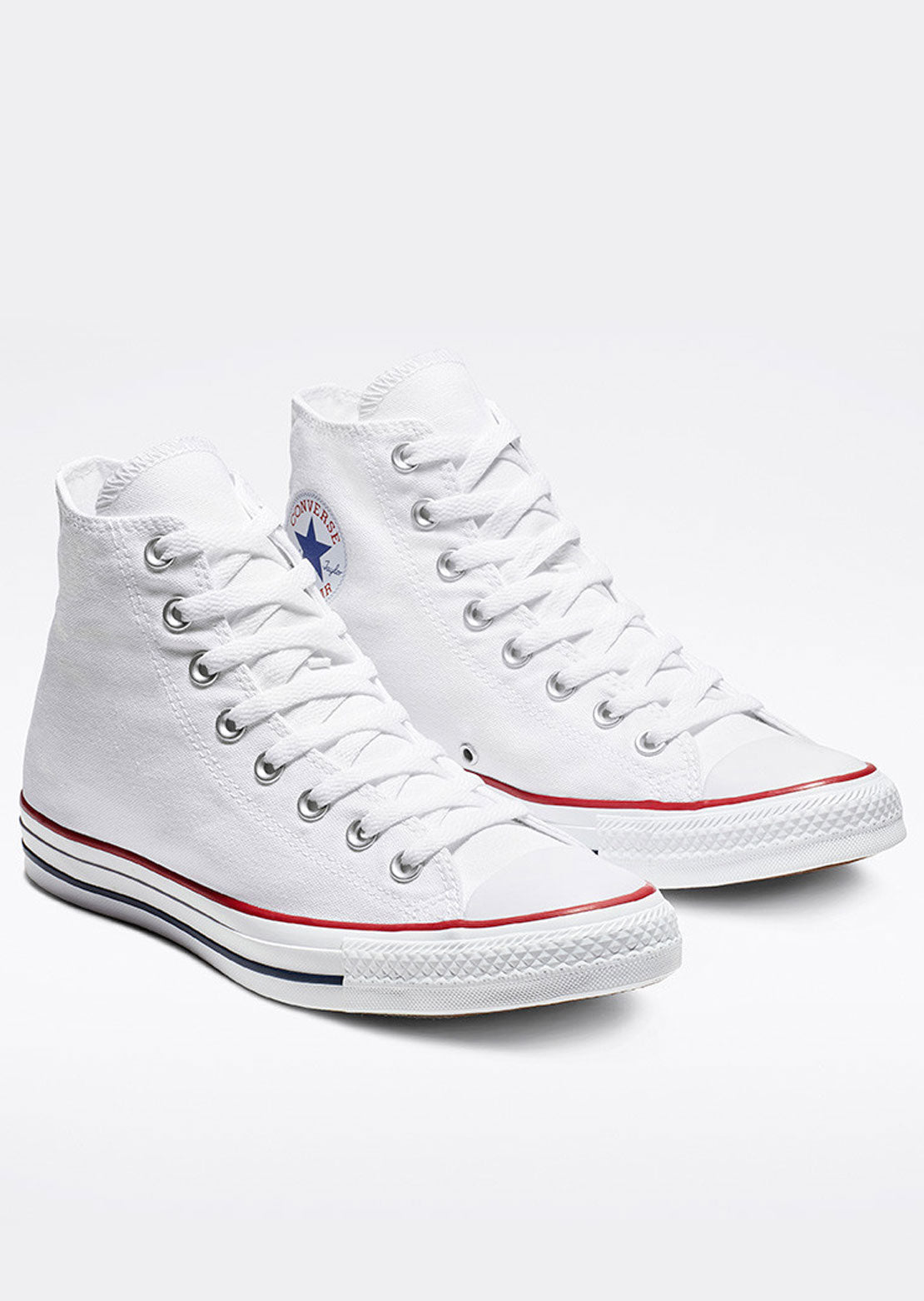 Converse Unisex Chuck Taylor All Star Hi Top Shoes Optical White