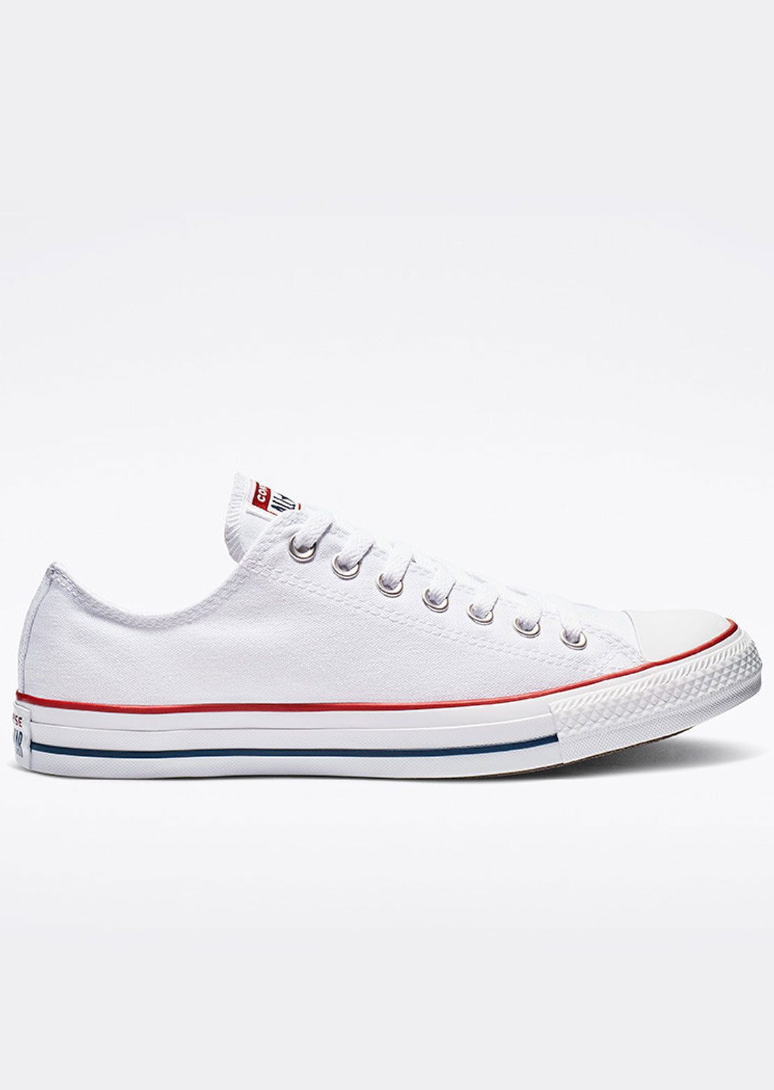 Converse Unisex Chuck Taylor All Star Low Top Shoes Optical White