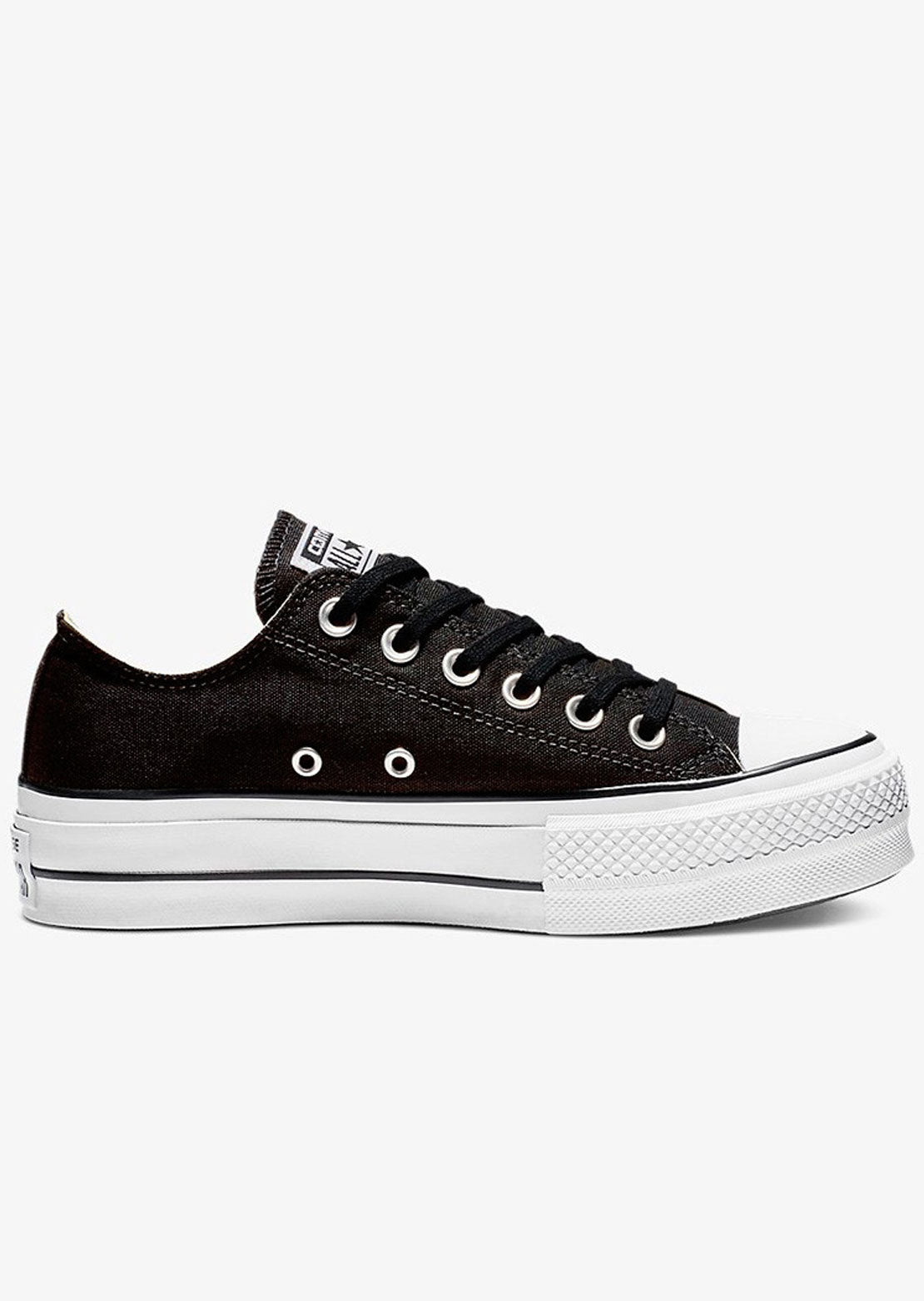 Converse Women's Chuck Taylor OX Lift Platform Shoes 560250C Black/White