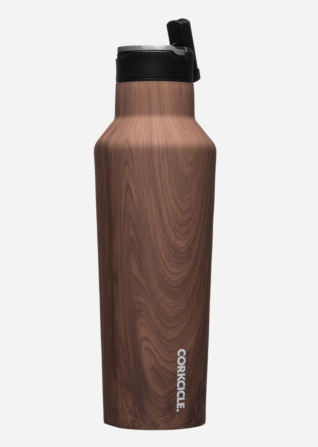 Corkcicle Sport Canteen 20 Oz Bottle Walnut Wood