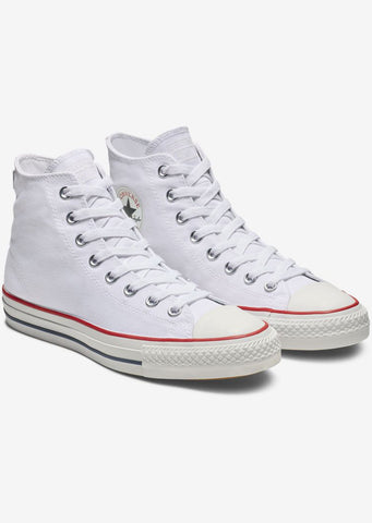 Converse Men's Chuck Taylor All Star Pro Hi Top Shoes White/Red/Insignia Blue