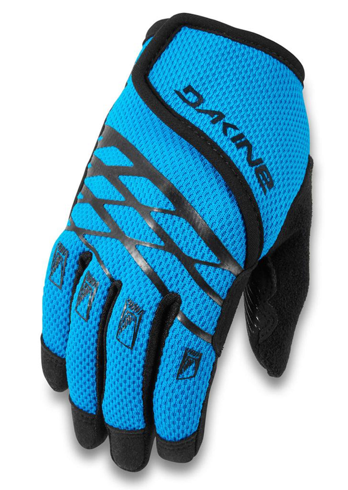Dakine Junior Prodigy Mountain Bike Gloves Cyan