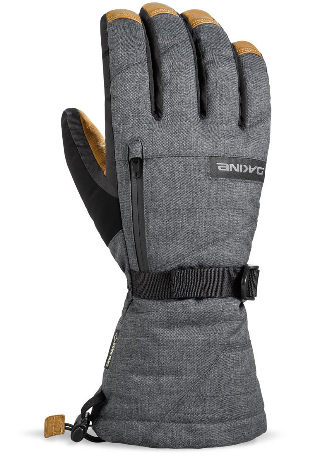 Dakine Men's Leather Titan GORE-TEX Gloves Carbon