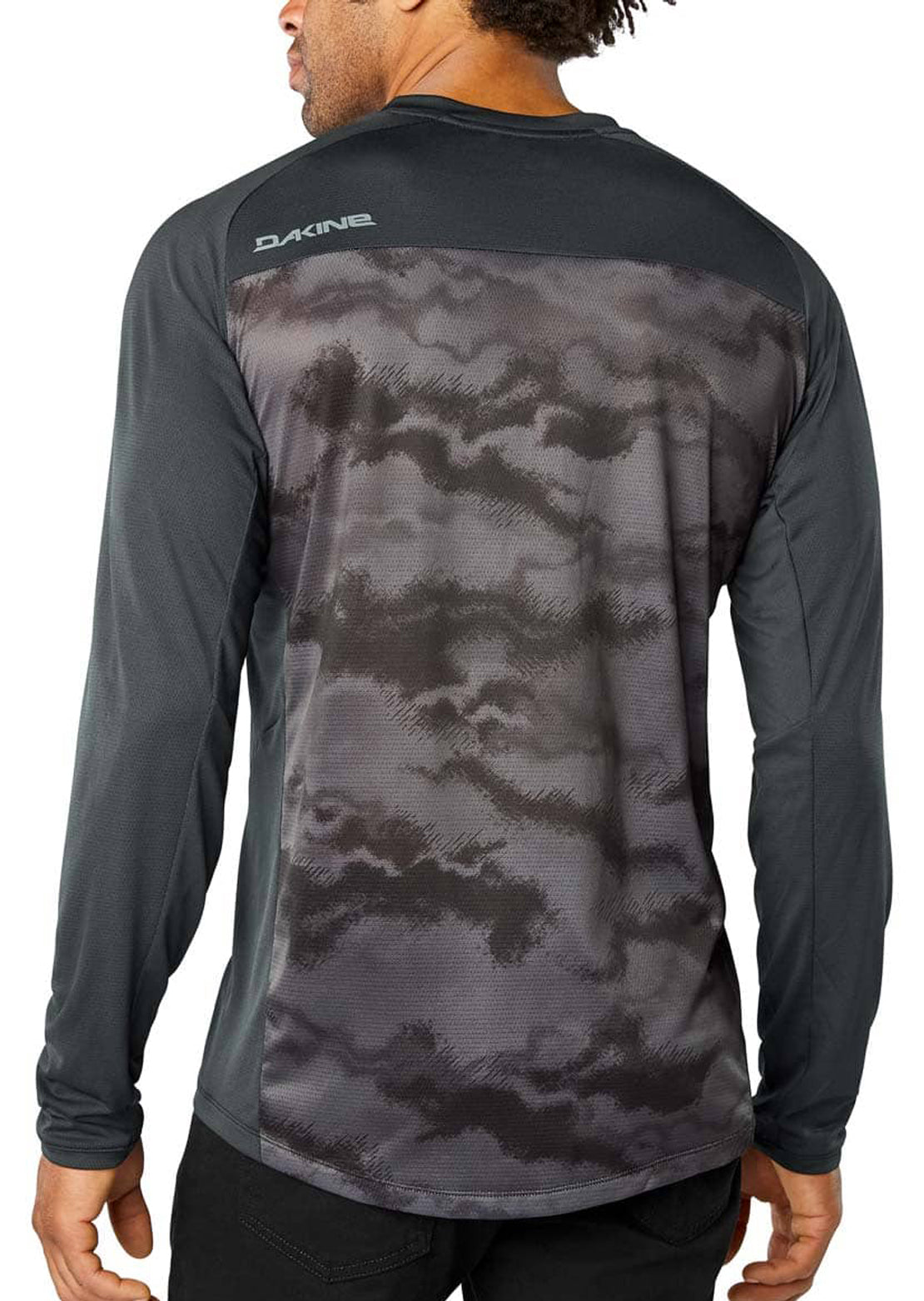 Dakine Men's Syncline Longsleeve Mountain Bike Jersey Black/Dark Ashcroft