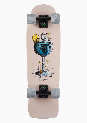 Landyachtz Dinghy Gin & Tonic Complete Cruiser Board Multi