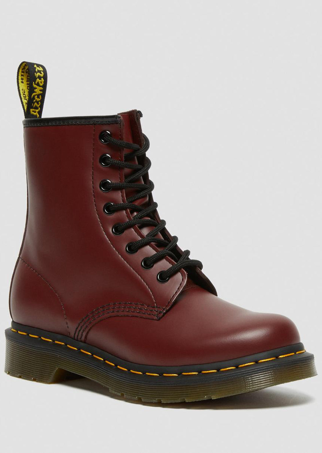 Dr.Martens Women's 1460 Boots Smooth Cherry Red