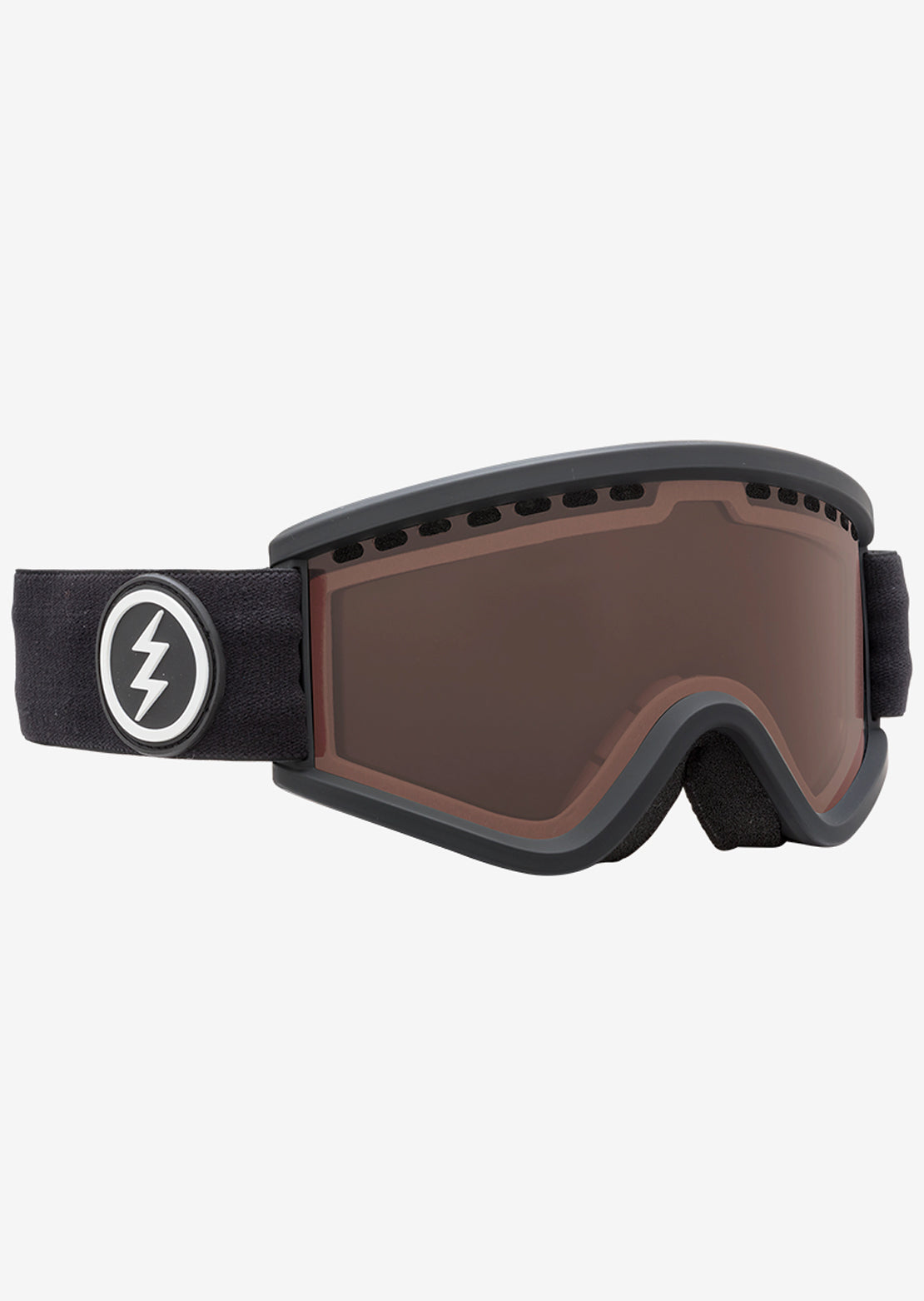 Electric Junior EGV.K Snow Goggles Matte Black/Brose