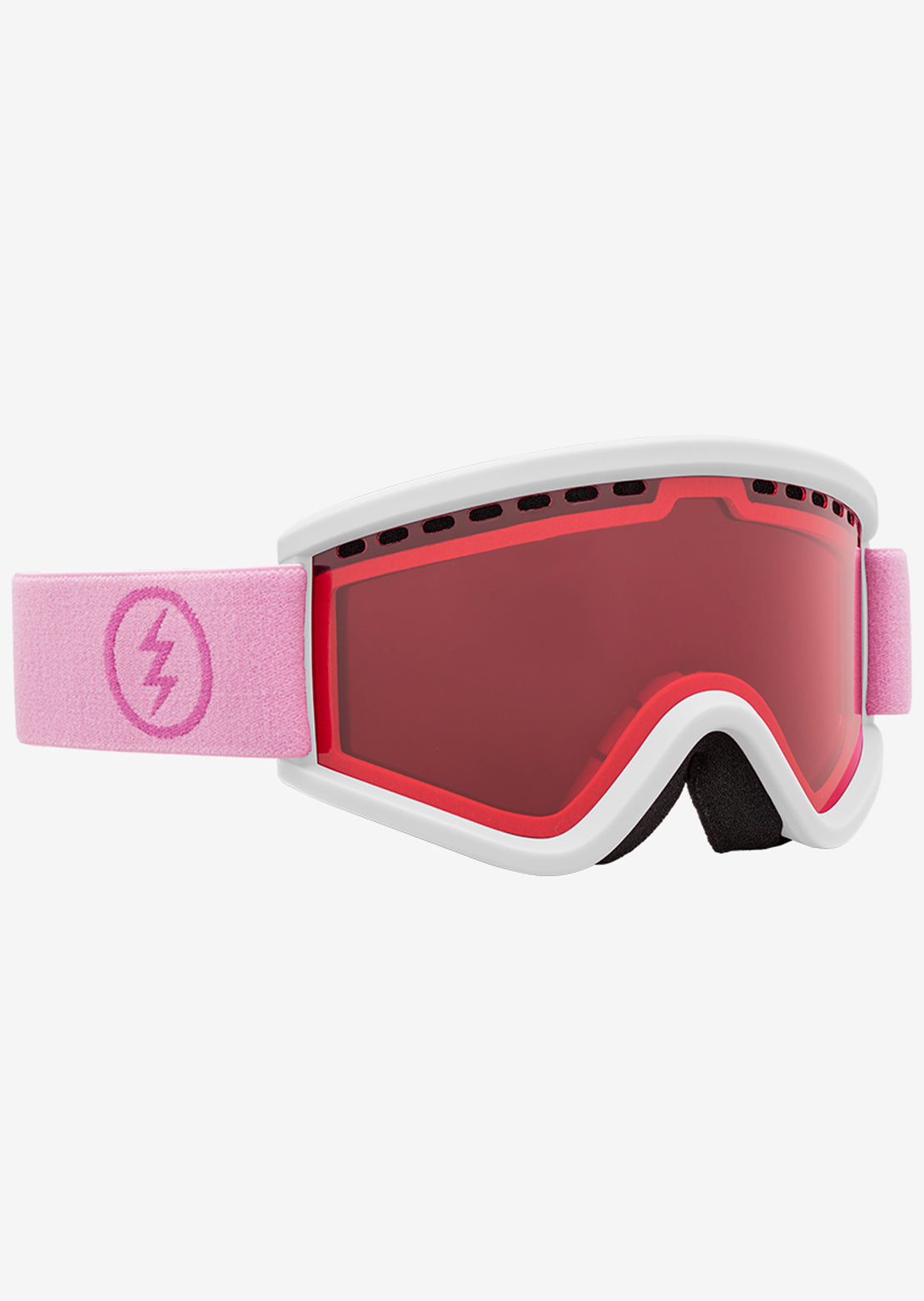 Electric Junior EGV.K Snow Goggles Matte White Mauve/Pink