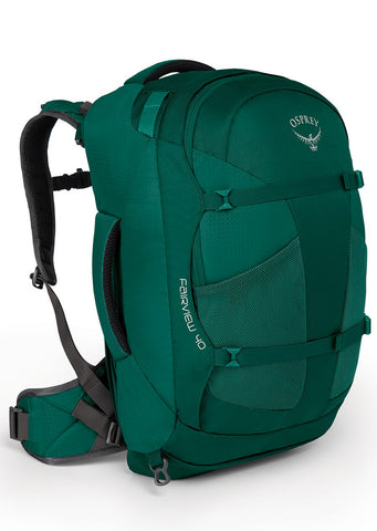 Osprey Women's Fairview 40 Backpack Rainforest Green