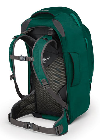 Osprey Women's Fairview 55 Backpack Rainforest