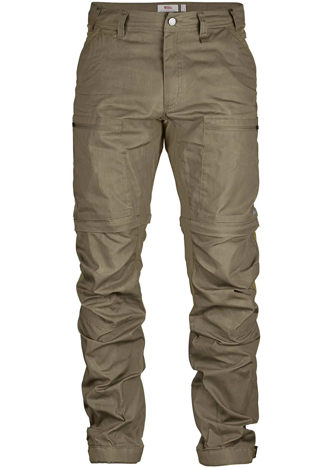 Fjallraven Men's Abisko Lite Trekking Zip-Off Reg Pants Light Olive