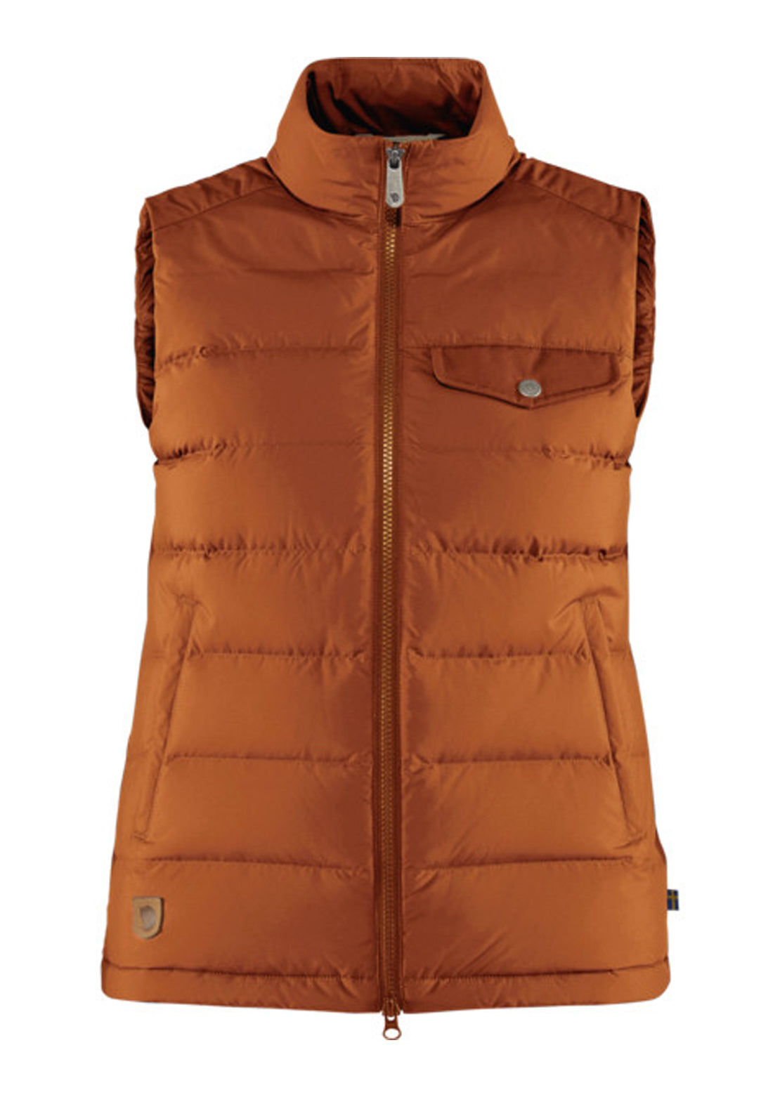 Fjallraven Women's Greenland Down Liner Vest Autumn Leaf