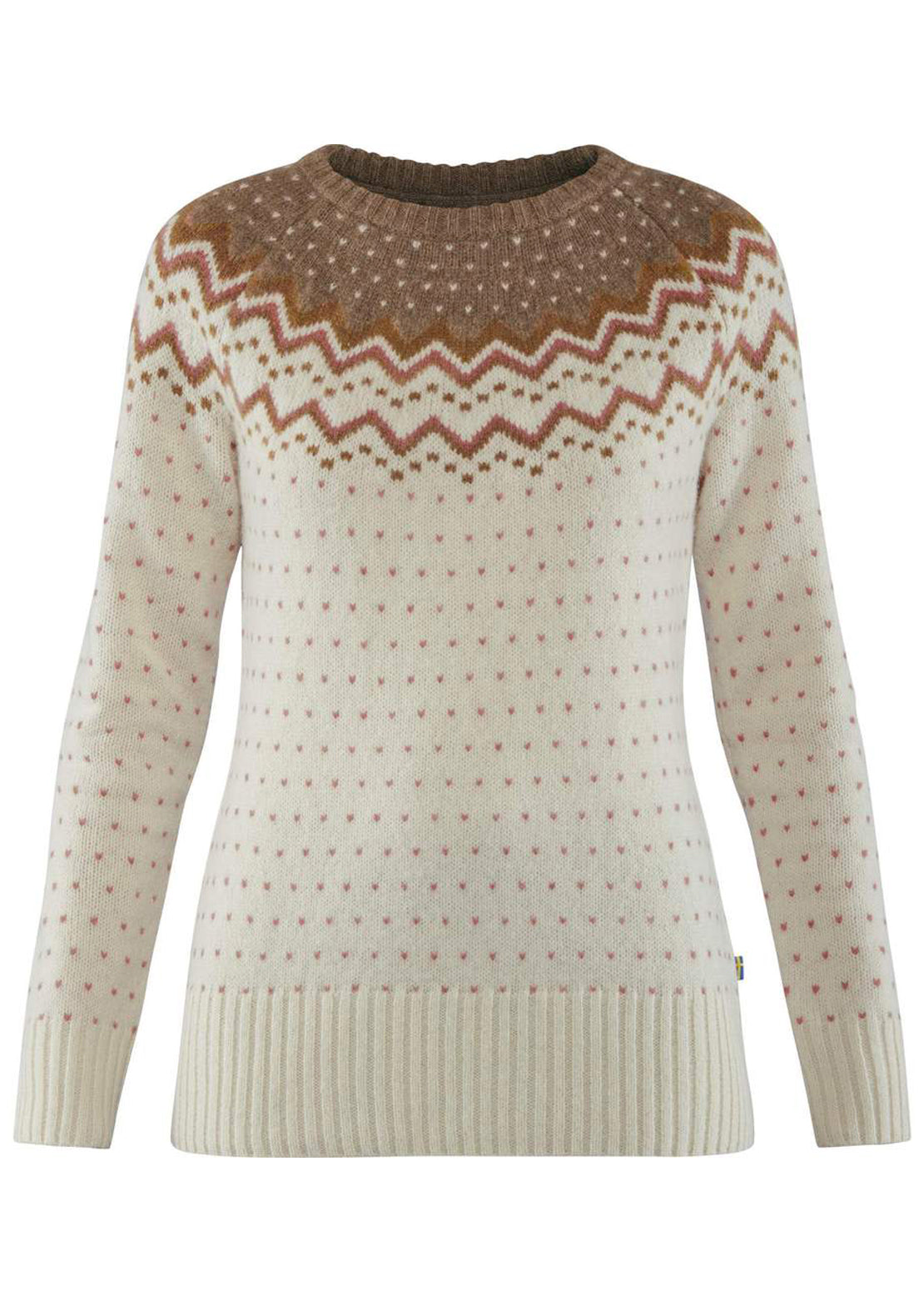 Fjallraven Women's Ovik Knit Sweater Terracotta Pink