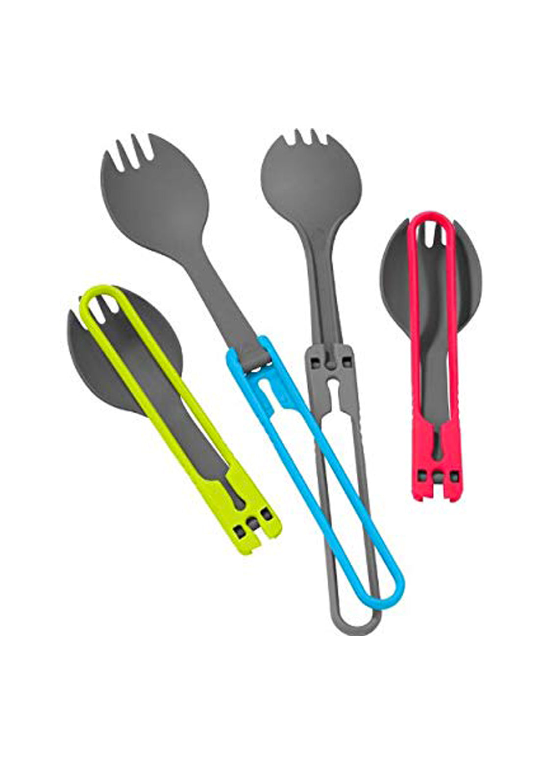 MSR Folding Sporks 4 Pieces Ustensils Kit